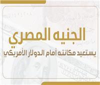 إنفوجراف| بالأرقام.. رحلة صعود الجنيه المصري أمام الدولار الأمريكي