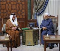 شيخ الأزهر يستقبل السفير السعودي لبحث تعزيز العلاقات المشتركة