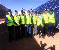 صور| وفد البنك الدولي يزور مشروع «بنبان» للطاقة الشمسية