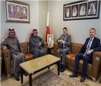 وزير العدل البحريني يستقبل سفير انجلترا لدى المملكة