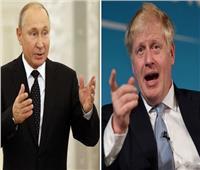 جونسون لبوتين: لا تطبيع للعلاقات قبل توقف روسيا عن أنشطتها «المزعزعة للاستقرار»
