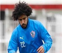عبدالله جمعة يواصل التأهيل في مران الزمالك