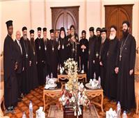 البابا تواضروس يستقبل بطريرك ثيؤدوروس للروم الأرثوذكس