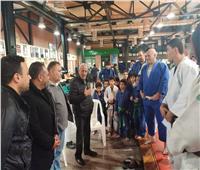 مجلس الصيد يدعم فريق الجودو قبل المشاركة في البطولة العربية