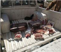 تحرير وضبط 3164 محضرا تموينيا ولحوم وأسماك فاسدة بالفيوم