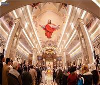 بعد تجديدها.. افتتاح كنيسة العذراء بالعاشر