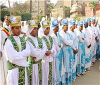 الجالية الأثيوبية في مصر تحتفل بعيد الغطاس