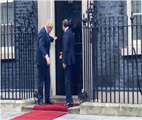 عاجل| وصول الرئيس السيسي إلى مقر رئاسة الوزراء في لندن.. صور