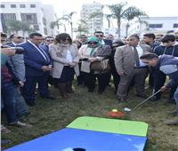 وزيرة الهجرة ومحافظ البحيرة يشهدان فعاليات «مراكب النجاة» بدمنهور
