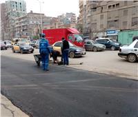 سباق مع الزمن للانتهاء من رصف شوارع المحلة