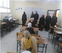 99% نسبة حضور الطلاب بامتحانات الإعدادية والثانوي العام في شمال سيناء