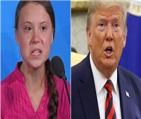 شبكة أمريكية: الناشطة غريتا تونبرج تغادر منتدى دافوس فور رؤية ترامب