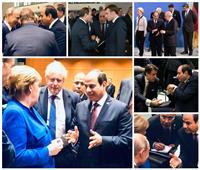 فيديو وصور| من «برلين إلى لندن»..مصر حاضرة بقوة في كافة القضايا العالمية والإقليمية