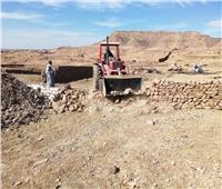 تنفيذ 11 قرار إزالة بقرية الكاجوج بكوم أمبو بمساحة 8 آلاف و434م2