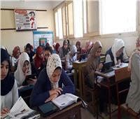 طلاب الأول الثانوي يؤدون امتحان التاريخ وفقًا لنظام التقييم الجديد