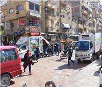 محافظ الإسكندرية يوجه بإزالة فورية لكافة الإشغالات بشوارع الفلكي