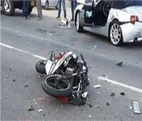 إصابة 9 أشخاص في انقلاب تروسيكل بقنا
