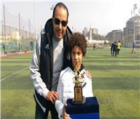 رئيس منطقة القاهرة يطمئن على لاعب منتخب البراعم بعد إصابته