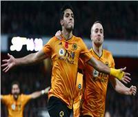 «راؤول خيمينيز» يسجل هدف تعادل وولفرهامبتون على ليفربول