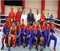 منتخب ملاكمة الناشئين يبدأ رحلةالبطولة العربية في الكويت
