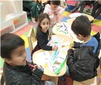 «رياضيات وهندسة مجسمة».. ورش الأطفال بجناح الأزهر بمعرض للكتاب