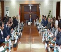 وزير التنمية المحلية يعقد اجتماعا مع البنك الدولي لتقييم برنامج تنمية الصعيد