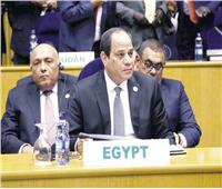مصر تشارك في القمة الأفريقية الـ ٣٣ في أديس أبابا