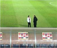 عبد الله جمعة يدعم لاعبي الزمالك أمام مازيمبي