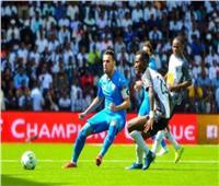 الشوط الأول| التعادل السلبي يسيطر على مباراة الزمالك ومازيمبي