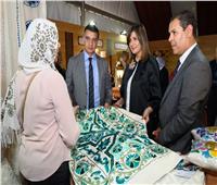 جهاز تنمية المشروعات يقيم معرضا للمنتجات اليدوية والتراثية المصرية