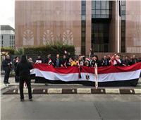 صور| الجالية المصرية في برلين تحتفل بعيد الشرطة