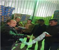 ضبط ٦٣٠ كرتونة بطاطس مصنعة غير صالحة للاستهلاك الآدمي بجنوب سيناء