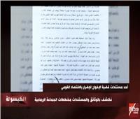 فيديو| «الكبسولة» يكشف دور فاتن إسماعيل في تهريب النقد الأجنبي عام 2013