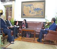 جامعة الإسكندرية تناقش مع الهيئة الألمانية سبل التعاون