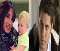 قرار جديد من المحكمة بشأن طفلي أحمد عز وزينة
