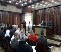 وزيرة البيئة تناقش قانون النفاذ بمجلس النواب