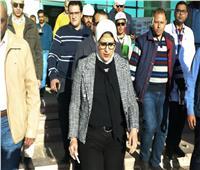 وزيرة الصحة تتفقد أعمال التطوير بمستشفى رأس سدر ووحدة «أسرة أبوصويرة»