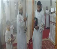 كنيسة مارجرجس بسوهاج تحتفل «بأحد الكلمة»