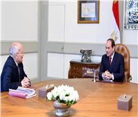 الرئيس السيسي يلتقي العصار لبحث تعزيز دور الإنتاج الحربي في تنمية الاقتصاد