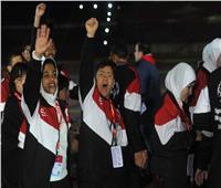 صور.. افتتاح مبهر لدورة الألعاب الأفريقية الأولى للأولمبياد الخاص