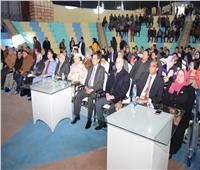 جامعة سوهاج تنظم حفل استقبال لوفود الجامعات المشاركة بالملتقى الصيدلى