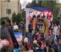 صور| احتفالية للأيتام وذوي الاحتياجات الخاصة بنادي الشرطة بتوريل بالمنصورة