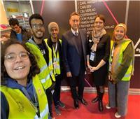 سفير ألمانيا يشيد بـ«الشباب المتطوعين» في معرض الكتاب