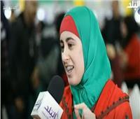 فيديو| حكاءة مغربية تكشف تفاصيل مشاركتها للمرة الأولى بمعرض الكتاب