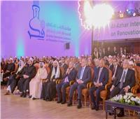 رئيس الوزراء يكرم زقزوق ونصر فريد واصل