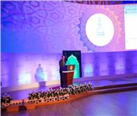 رئيس الوزراء يلقي كلمة الرئيس السيسي في مؤتمر الأزهر العالمي