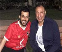 «الخطيب» يطمئن على آل الشيخ بعد الجراحة