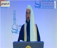 فيديو| وزير الأوقاف السعودي: مصر تنشر العلم والسلام وتواجه تيارات التطرف