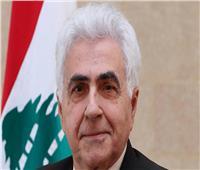 """وزير الخارجية اللبناني يعد بـ """"تحرك نشط"""" نحو عواصم القرار العربية والدولية لدعم بلاده"""
