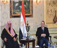 النائب العام يستقبل نظيره السعودي